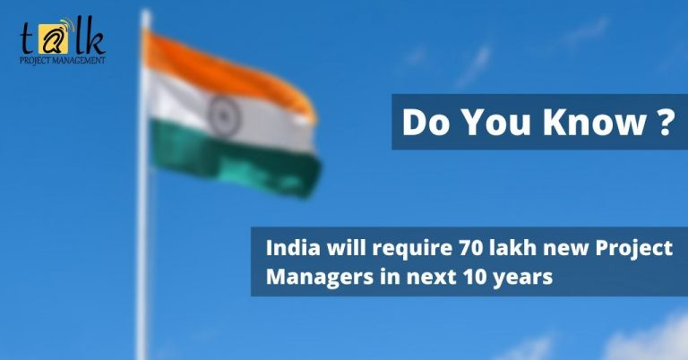 India will require 70 lakh new Project Managers in next 10 years (1)