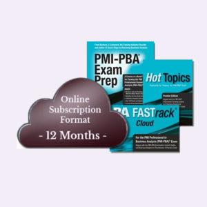 PMI - PBA Exam Prep