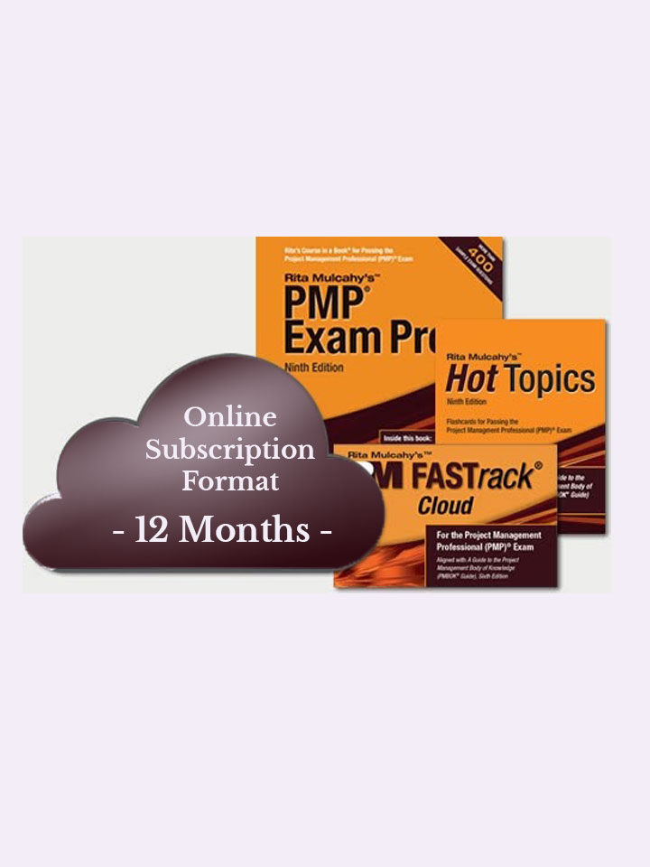 Rita Mulcahy's PMP® Exam Prep System, Ninth Edition – Cloud Subscription – 12 Month